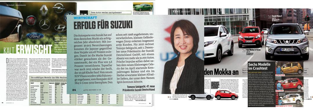Suzuki Press image