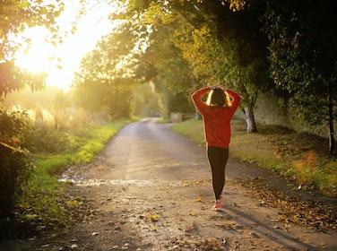 mental health self-care walk