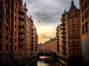Hamburg cityscape