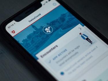 Swiss Covid information app
