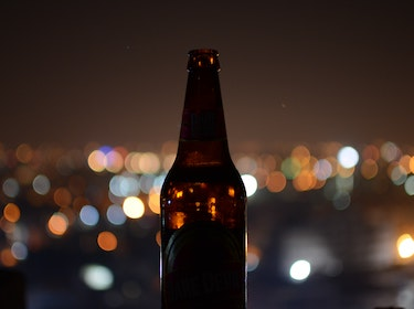 drinks bottle and night lights