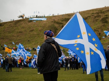 Scottish independence campaigners