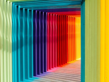 labyrinth of colours