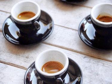 three espressos - or expressos?